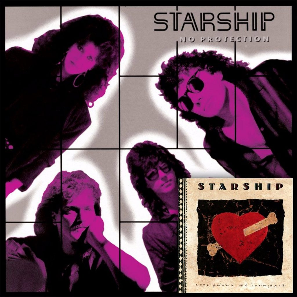 Jefferson Starship -  No Protection & Love Among The Cannibals (2 Lp's on 2 CD's/Original Recording Masters/Limited Edition)