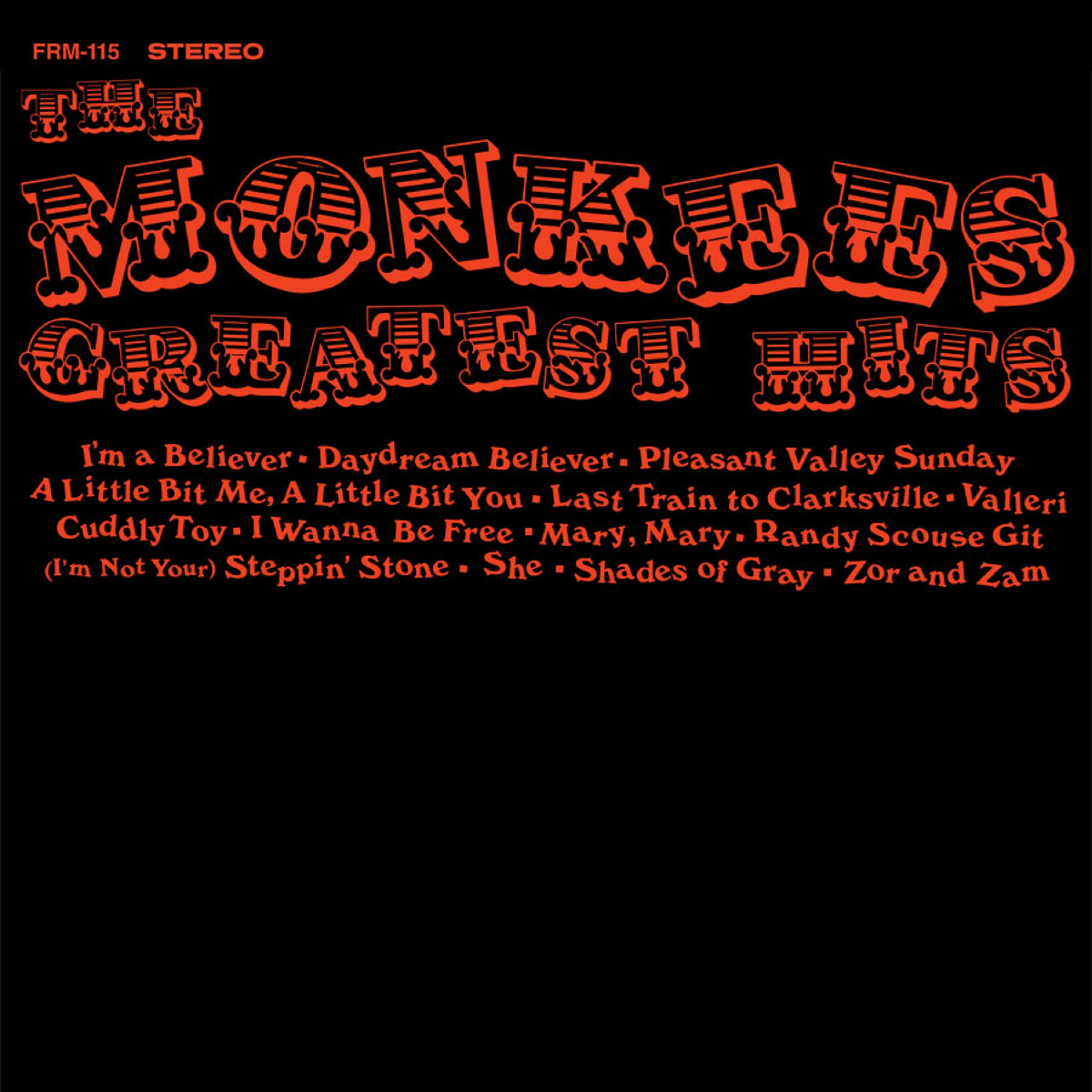 The Monkees - Greatest Hits (180 Gram Orange Audiophile Vinyl/Limited Anniversary Edition)