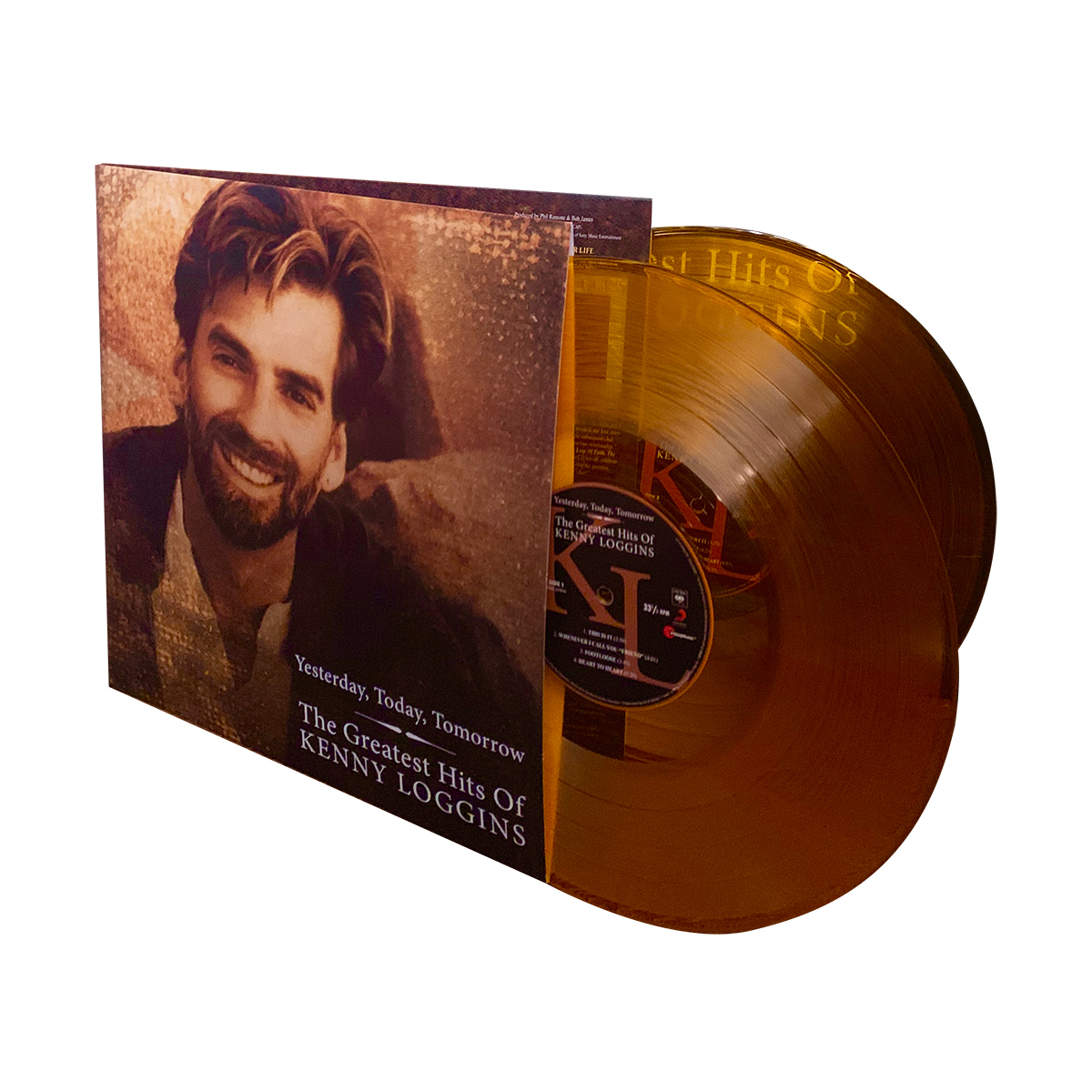 Kenny Loggins - Greatest Hits - Yesterday Today and Tomorrow (180 Gram Translucent Gold Audiophile Vinyl/Limited Edition /Gatefold Cover & Poster)