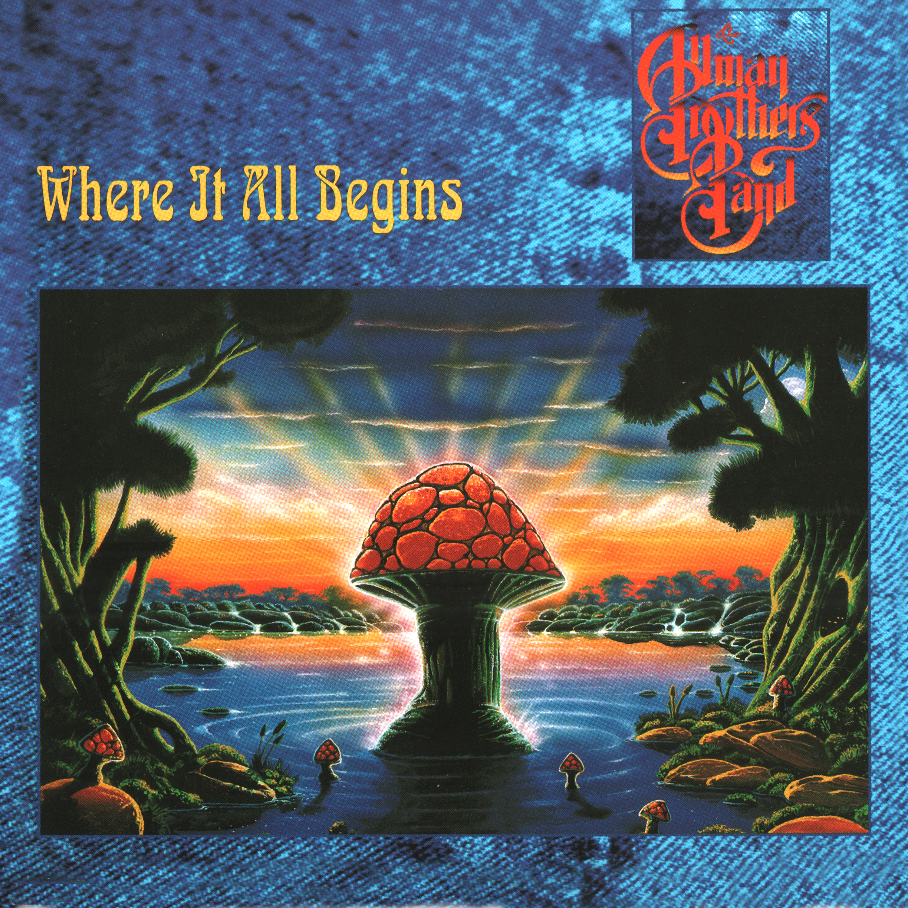 The Allman Brothers Band - Where It All Begins (180 Gram Translucent Gold & Red Swirl Audiophile Vinyl/Limited Edition/Gatefold Cover & Poster)