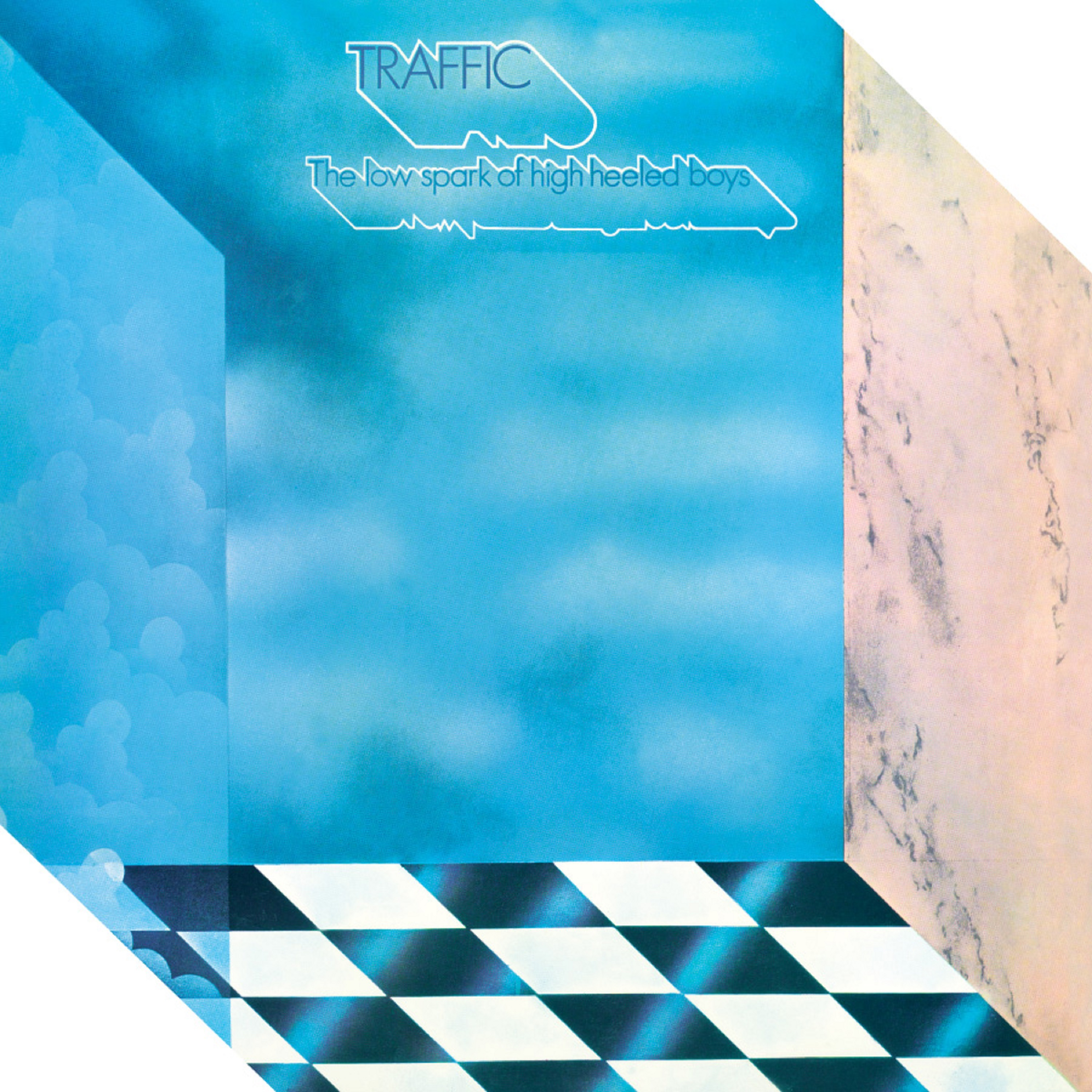 Traffic - The Low Spark Of High Heeled Boys (180 Gram Translucent Blue Audiophile Vinyl/Limited Edition/Die-Cut Cover)