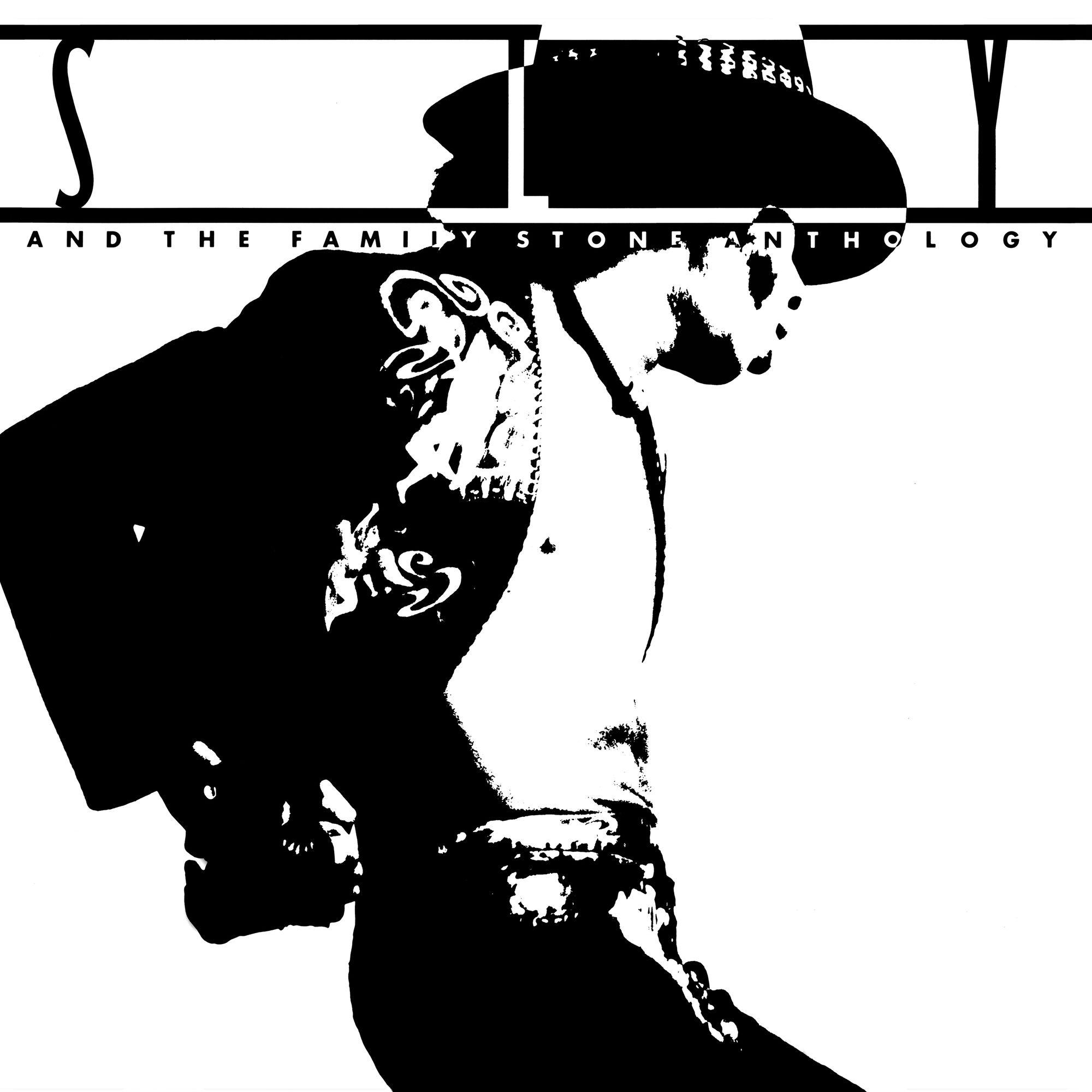 SLY & THE FAMILY STONE - ANTHOLOGY - GREATEST HITS (180 GRAM BLACK WHITE & GRAY SWIRL AUDIOPHILE VINYL/LIMITED EDITION)