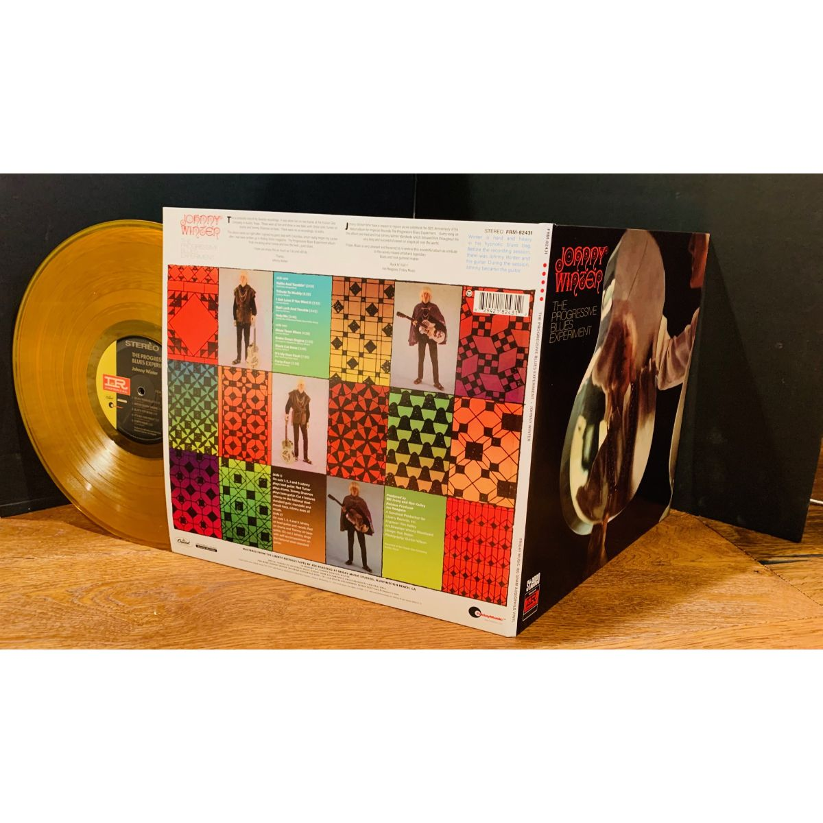 Johnny Winter - The Progressive Blues Experiment (180 Gram Gold Vinyl / 50th Anniversary Edition / Gatefold Cover)
