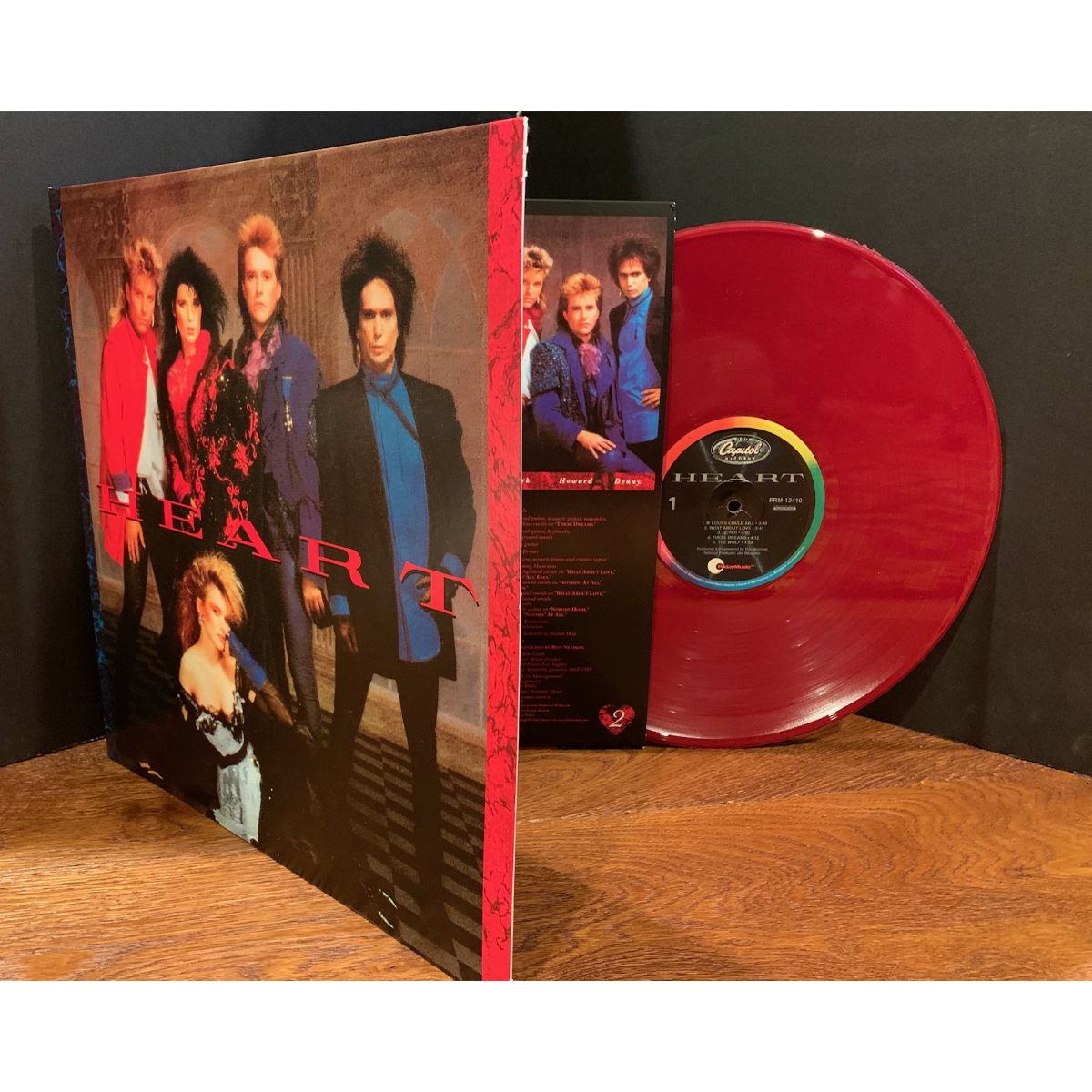 Heart - Heart (180 Gram Burgundy Red Vinyl/Limited Anniversary Edition/Gatefold Cover)