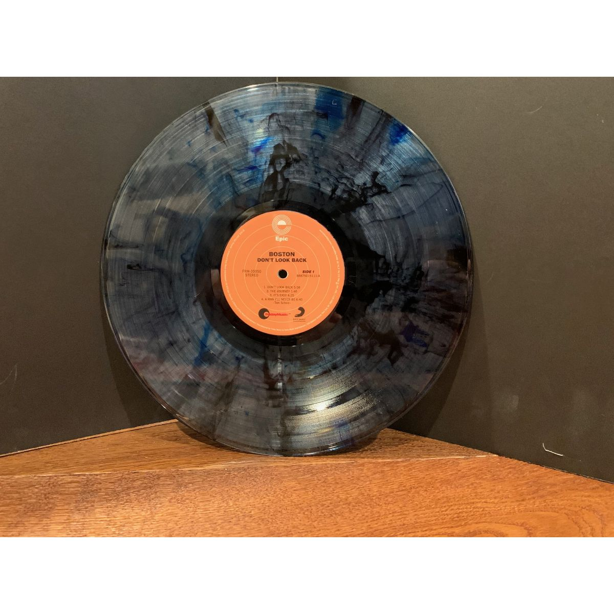 Boston - Don't Look Back (180 Gram Blue and Black Swirl Vinyl / Limited Anniversary Edition / Gatefold Cover)