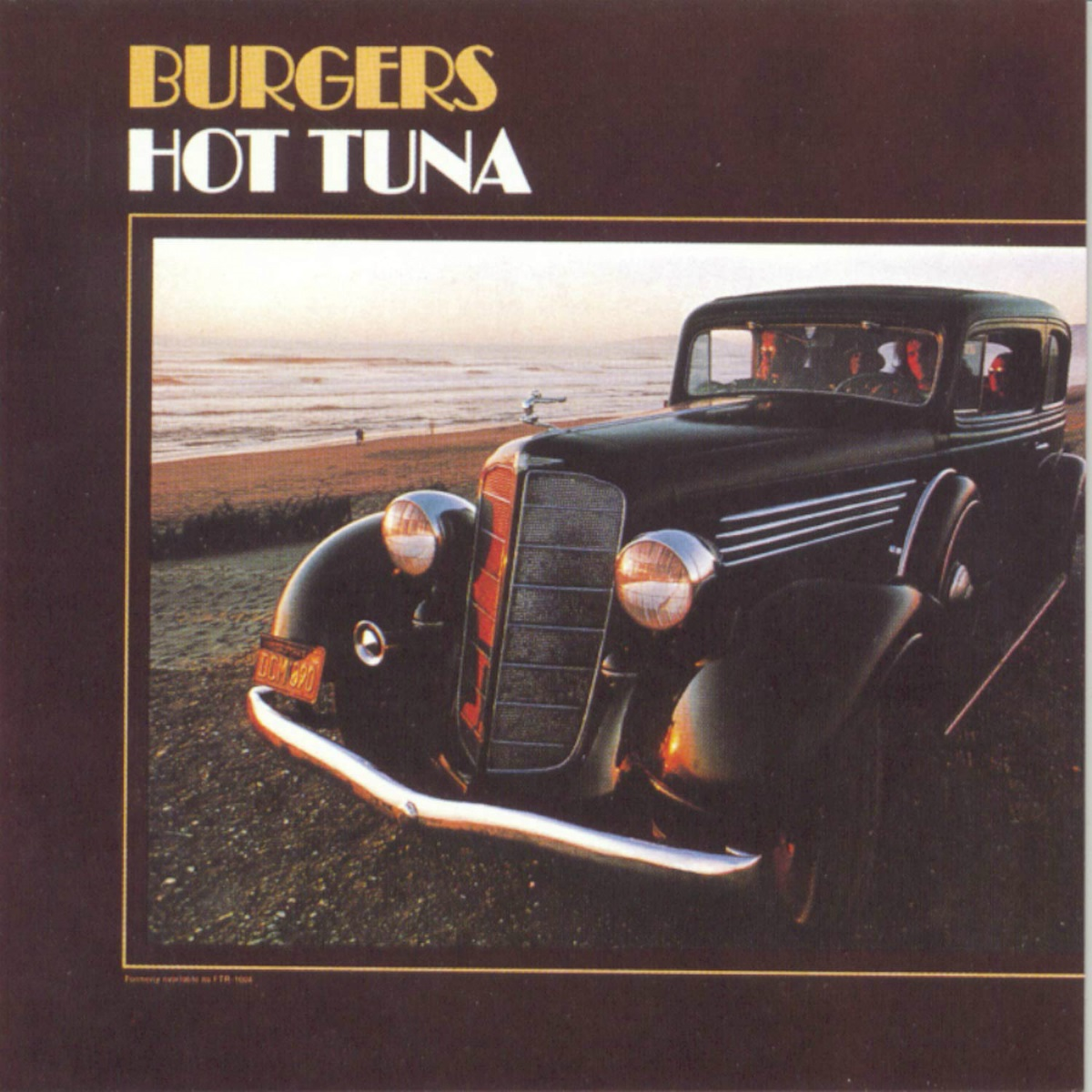 Hot Tuna - Burgers (180 Gram Blue Vinyl / Limited Anniversary Edition / Gatefold Cover)