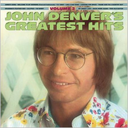 John Denver – Greatest Hits Volume Two (180 Gram Translucent Gold & Blue Swirl Vinyl/Limited Anniversary Edition/Gatefold Cover)