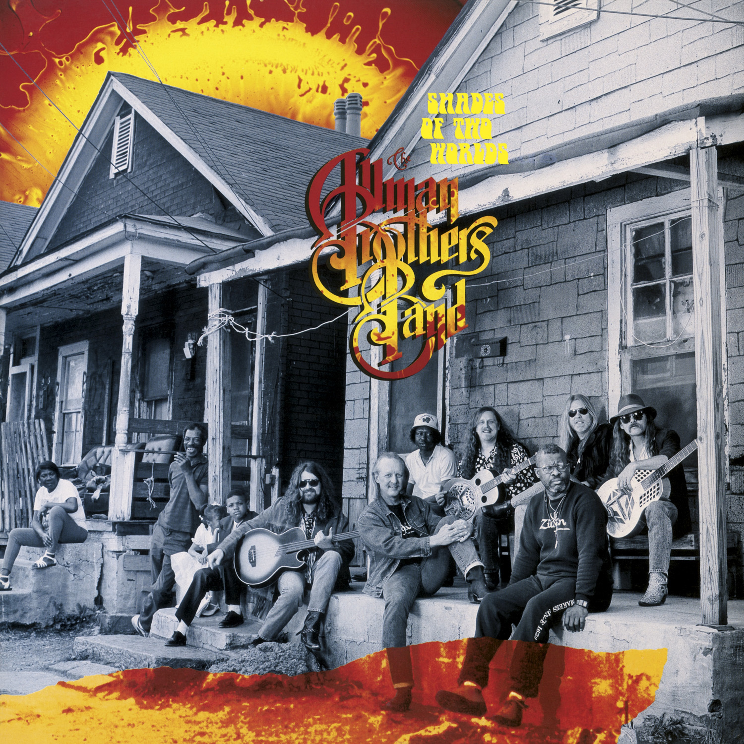 The Allman Brothers Band Shades Of Two Worlds (180 Gram Translucent Gold & Blue Swirl/Limited Edition/Gatefold Cover)