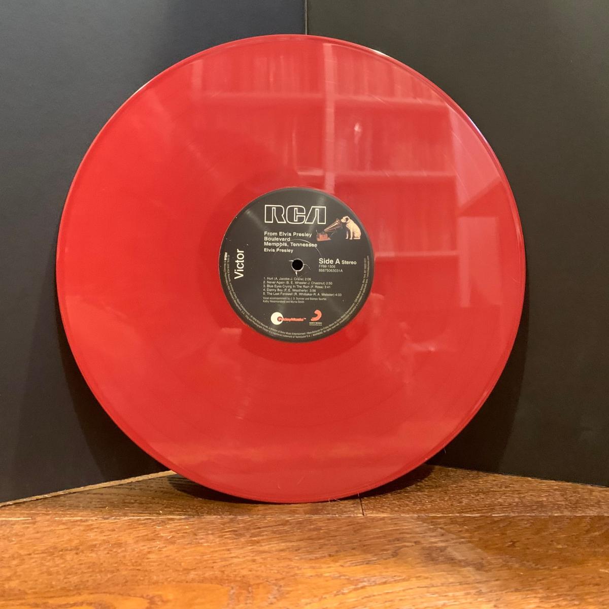 Elvis Presley From Elvis Presley Boulevard Memphis Tennesee (180 Gram Audiophile Burgundy Red Vinyl/Limited Edition/Gatefold Cover)