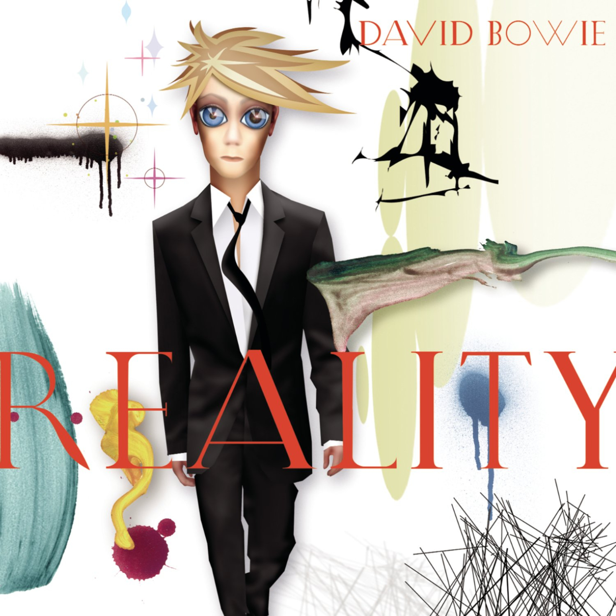 David Bowie - Reality (180 Gram White & Blue Swirl Vinyl / Limited Edition / Tri-fold Cover)