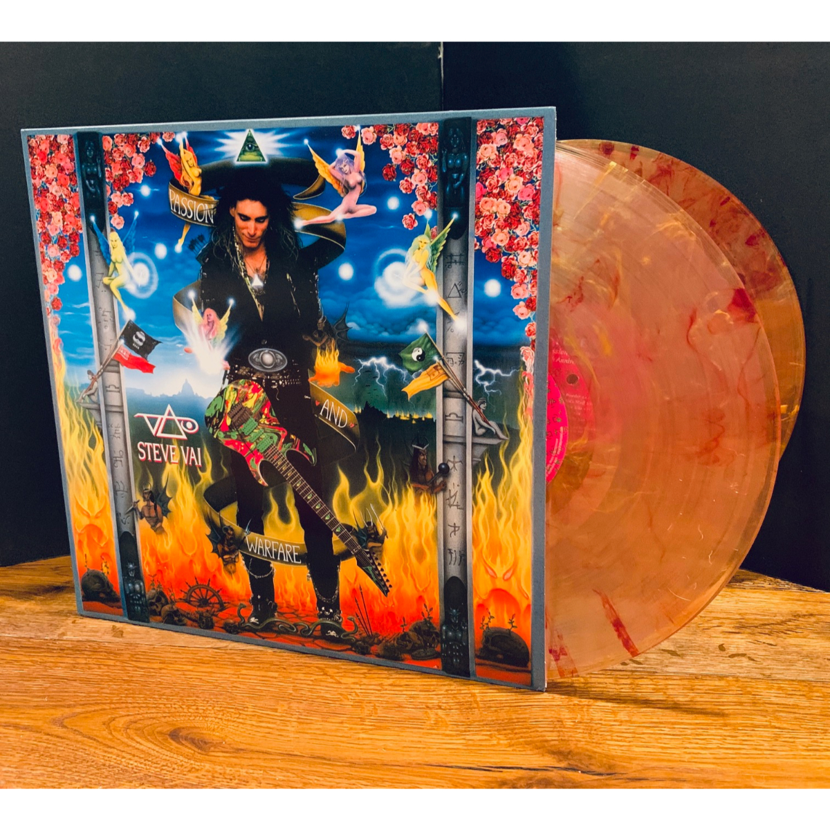 Steve Vai - Passion And Warfare (180 Gram Translucent Gold & Red Swirl/Limited Edition/Gaterfold Cover)