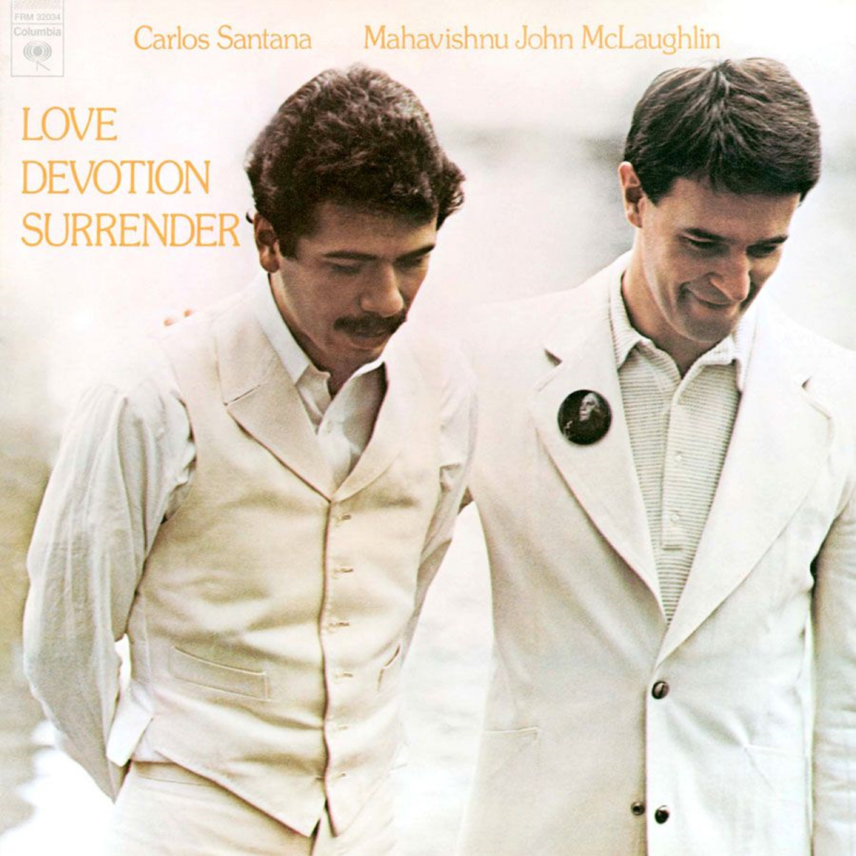 Carlos Santana & John McLaughlin - Love Devotion Surrender (180 Gram Translucent Gold & Red Swirl Audiophile Vinyl/Limited Anniversary Edition/Gatefold Cover)