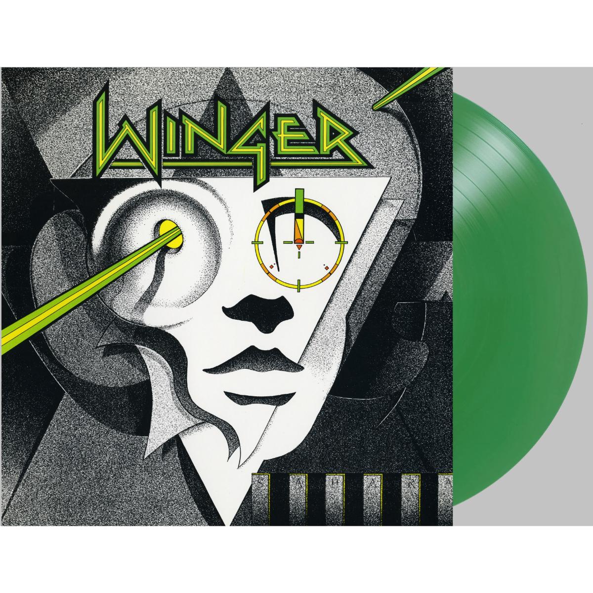 Winger - Winger (180 Gram Translucent Emerald Green Audiophile Vinyl/Limited Anniversary Edition/Bonus Track)