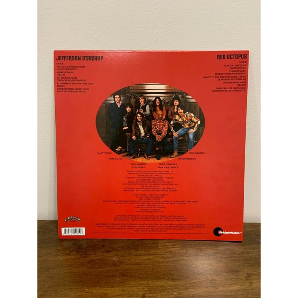 Jefferson Starship - Red Octopus (180 Gram Translucent Red Audiophile Vinyl/45th Anniversary/Gold Embossed Die-Cut Cover)