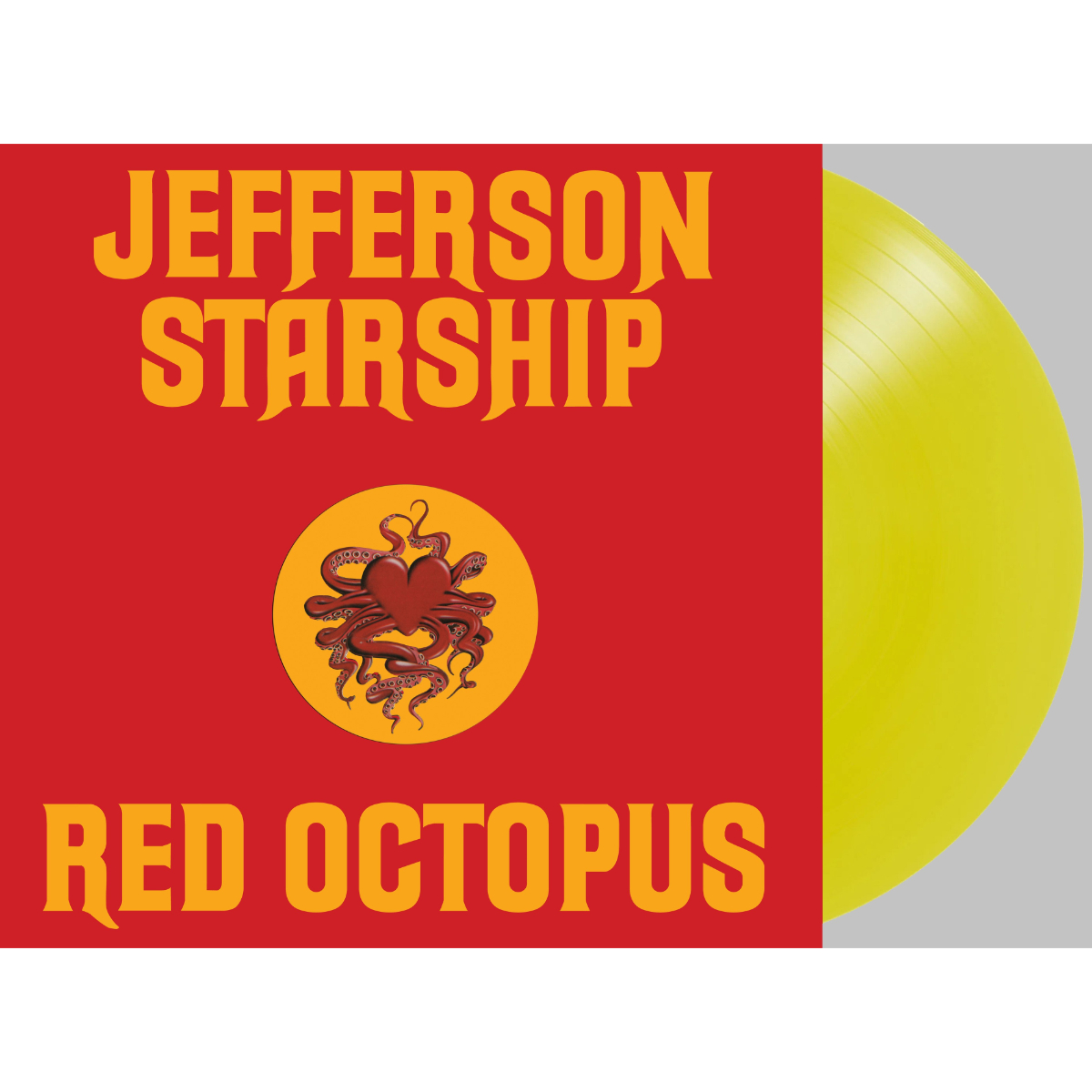 Jefferson Starship - Red Octopus (180 Gram Translucent Yellow Audiophile Vinyl/45th Anniversary/Gold Embossed Die-Cut Cover)