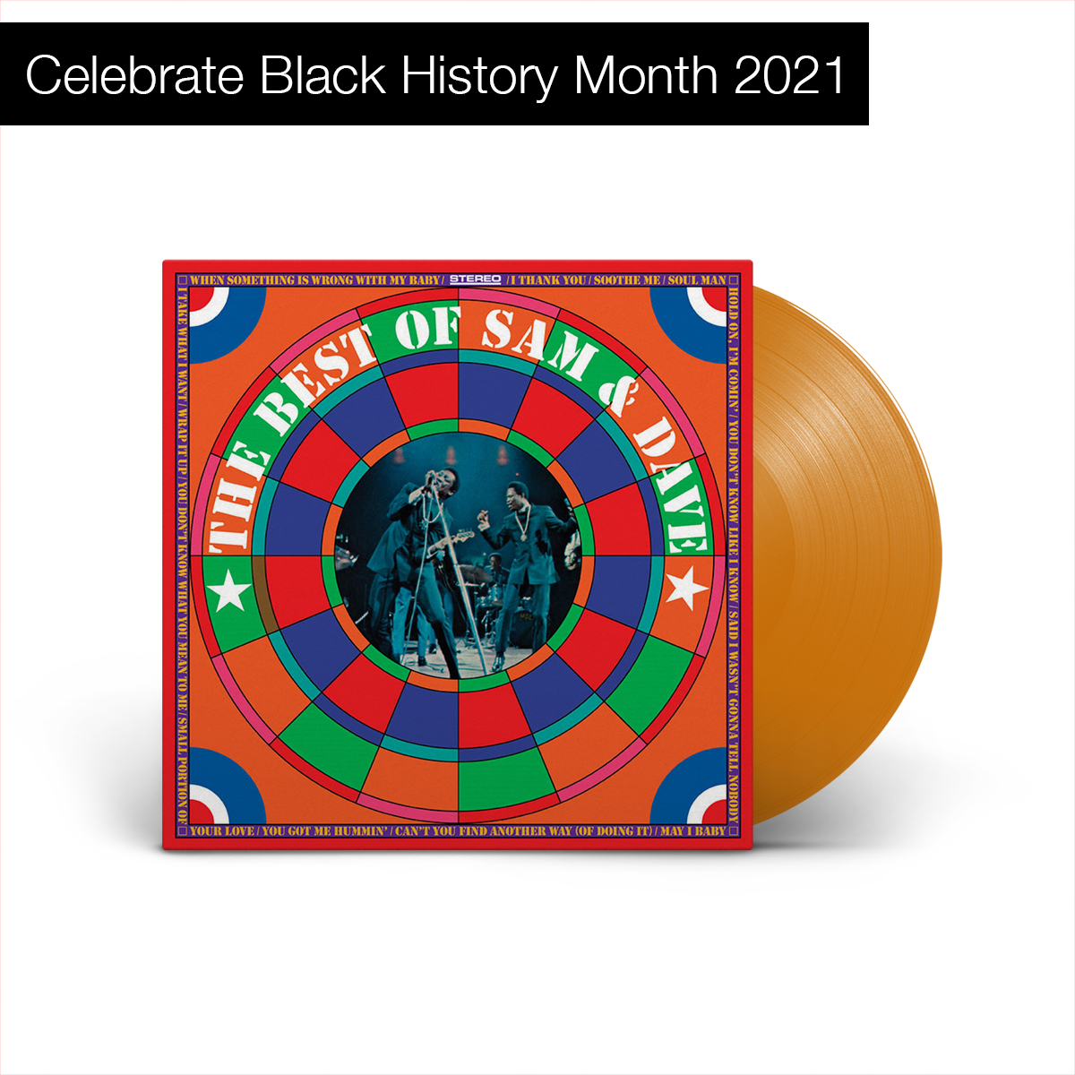 Sam & Dave - The Best Of Sam & Dave (180 Gram Translucent Gold Vinyl)