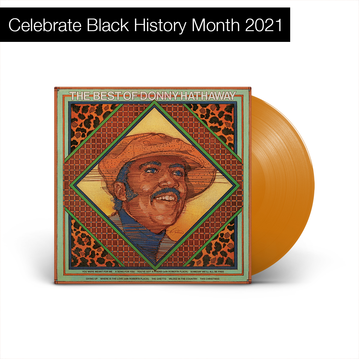 Donny Hathaway - The Best Of Donny Hathaway (180 Gram Translucent Gold Vinyl)