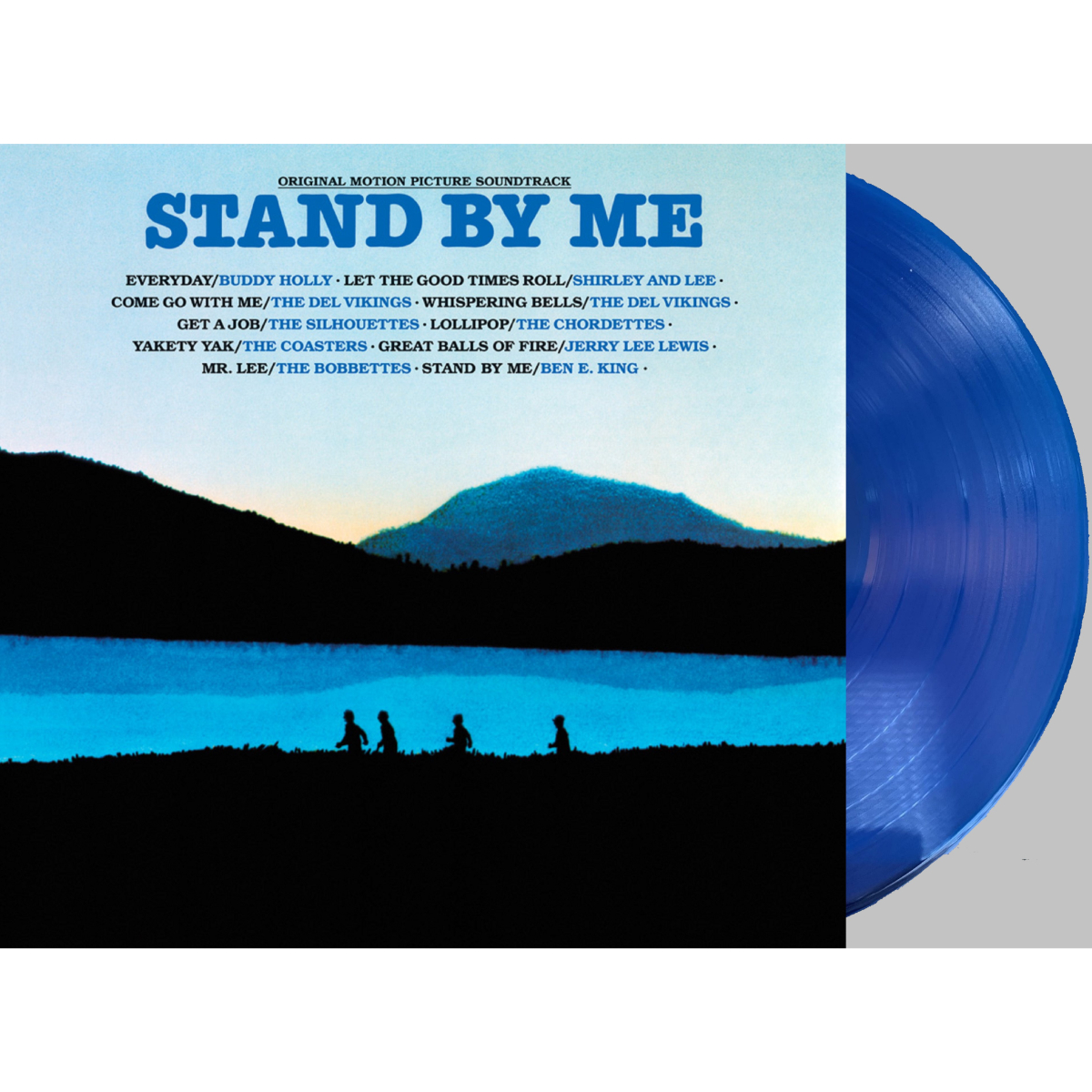 Stand By Me -Original Motion Picture Soundtrack (180 Gram Translucent Blue Audiophile Vinyl/Limited Anniversary Edition)