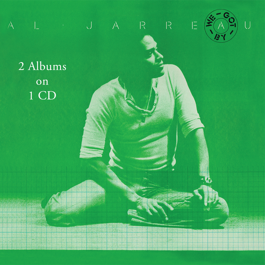 Al Jarreau - We Got By/Glow CD