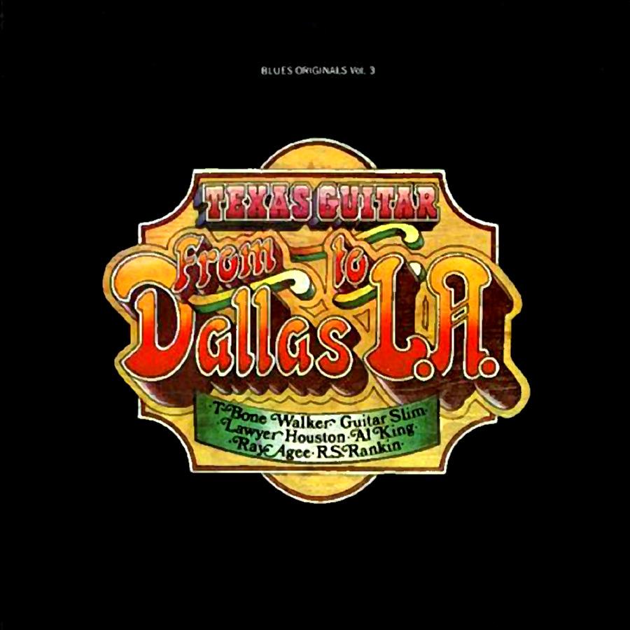 T-Bone Walker Texas Guitar from Dallas to LA, Vol 3 CD