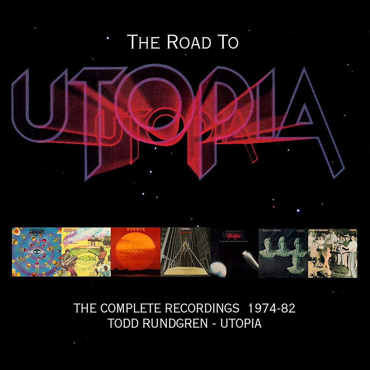 TODD RUNDGREN-UTOPIA - THE ROAD TO UTOPIA-THE COMPLETE RECORDINGS 1974-82 CD