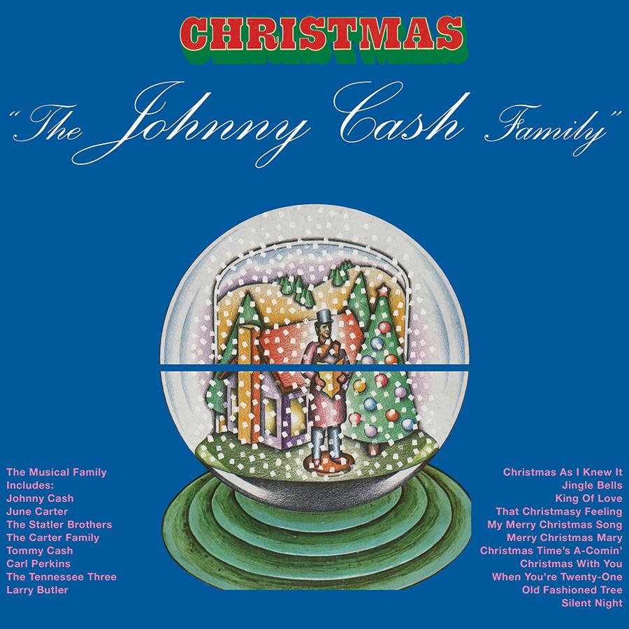 Johnny Cash - Johnny Cash Family Christmas LP