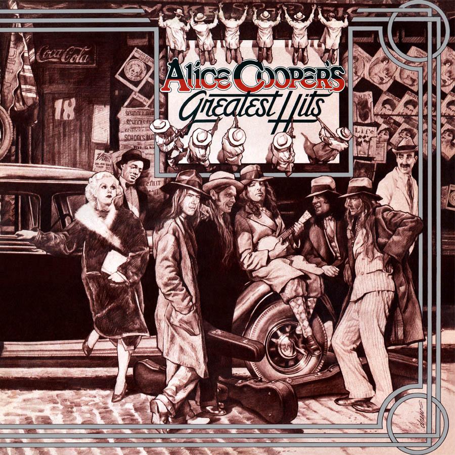 Alice Cooper - Greatest Hits (180 Gram Audiophile Vinyl/Ltd. Anniversary Edition/Gatefold Cover)