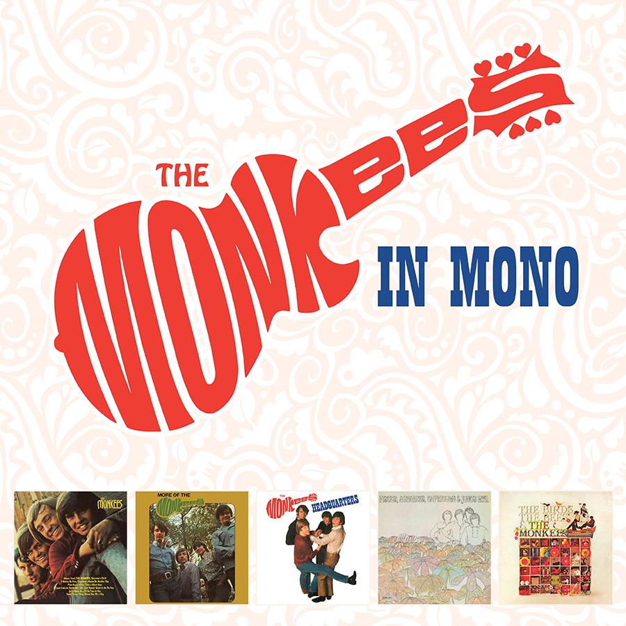 The Monkees - The Monkees In Mono LP Box Set (180 Gram Audiophile Vinyl/Ltd. Edition/5 LP Box Set)
