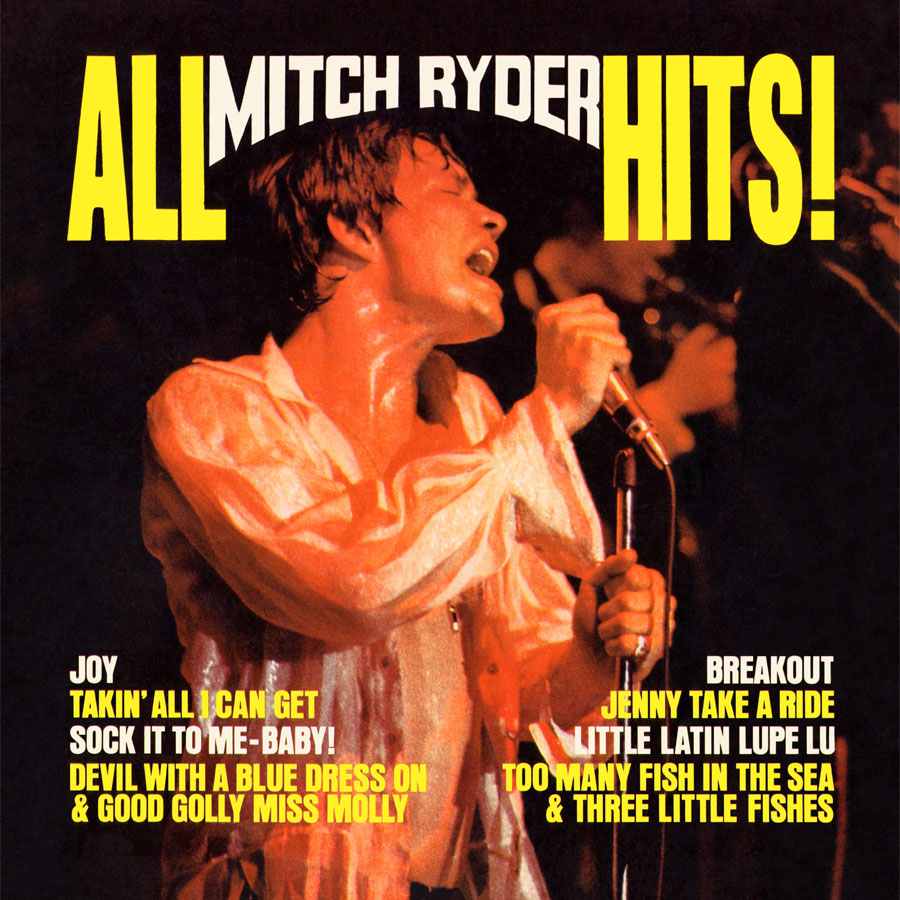 Mitch Ryder - All Mitch Ryder Hits (180 Gram Audiophile Vinyl/Original Stereo Master Recording/Ltd. Edition)