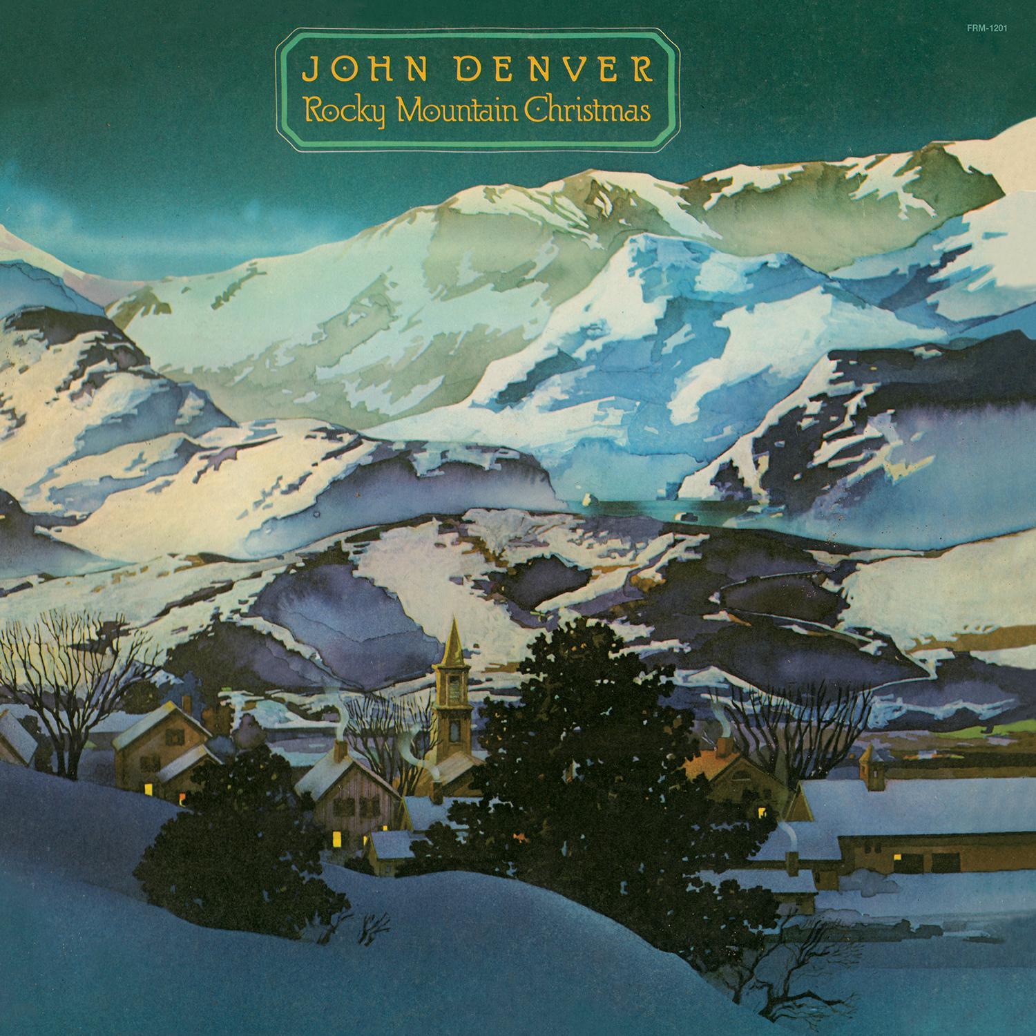John Denver - Rocky Mountain Christmas (180 Gram Audiophile Blue Vinyl/Ltd. Edition/Gatefold Cover)