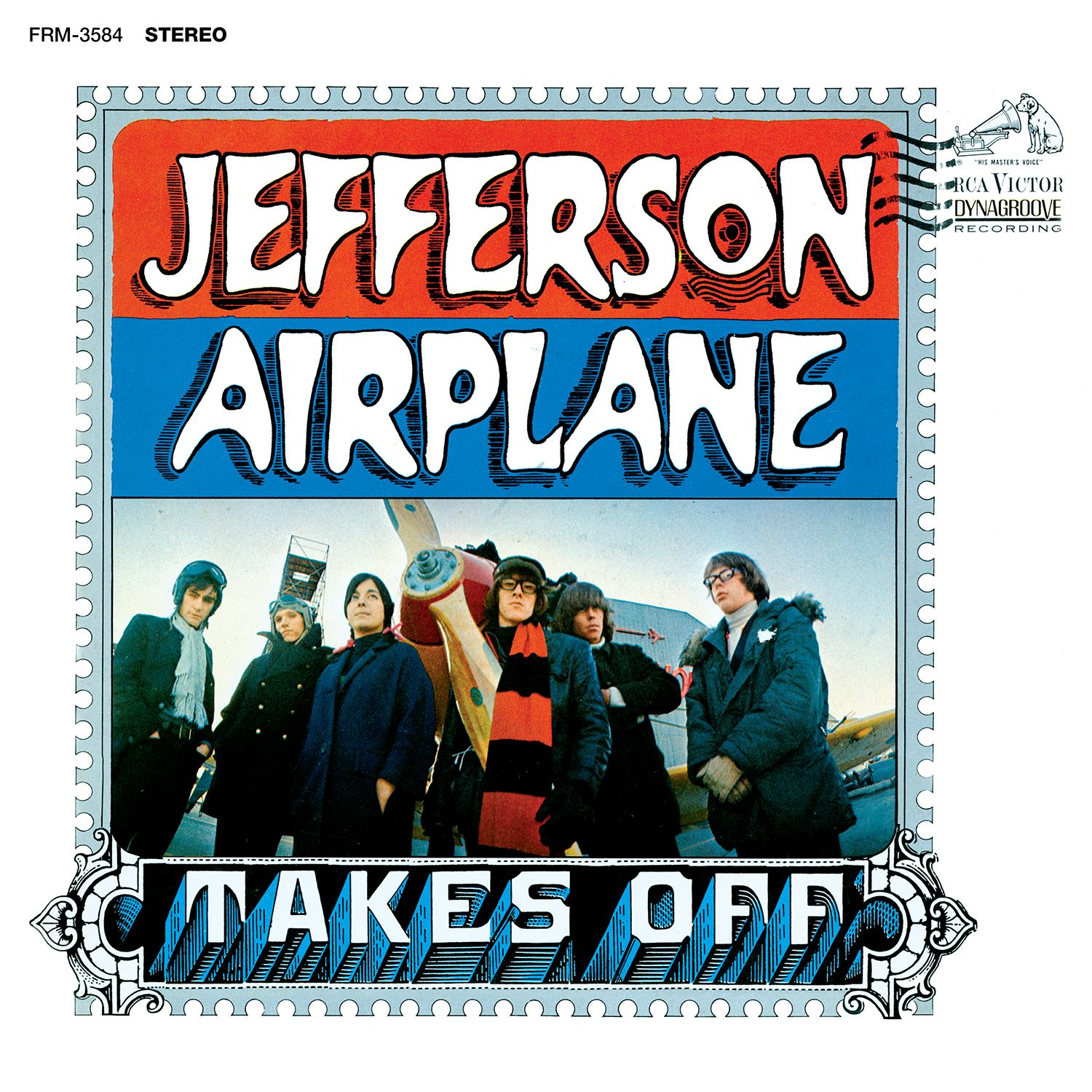 Jefferson Airplane - Takes Off (180 Gram Audiophile Tranluscent Blue Vinyl/Ltd. Anniversary Edition/Gatefold Cover)