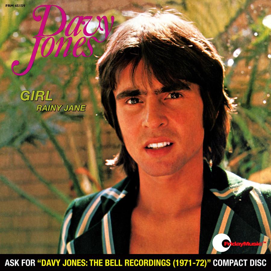 Davy Jones - Girl (45 RPM Red Audiophile Vinyl/Ltd. Edition/Picture Sleeve)
