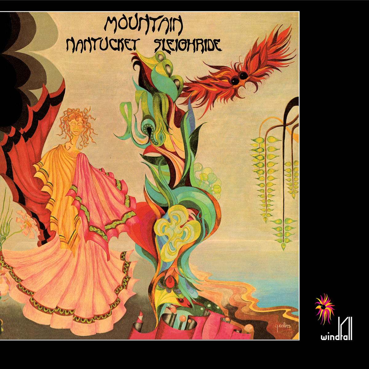 Mountain - Nantucket Sleighride (180 Gram Audiophile Clear Vinyl/Limited Edition/Gatefold Cover)