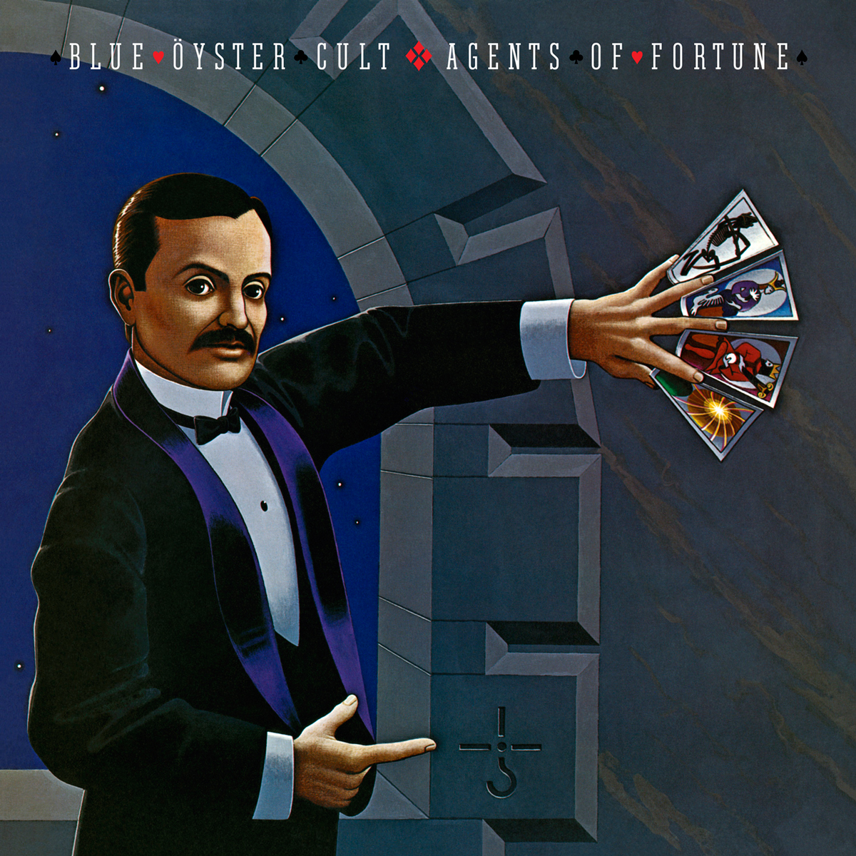 Blue Oyster Cult - Agents Of Fortune 40th Anniversary Edition (180 Gram Audiophile Translucent Blue Vinyl/Limited Edition/Gatefold Cover)