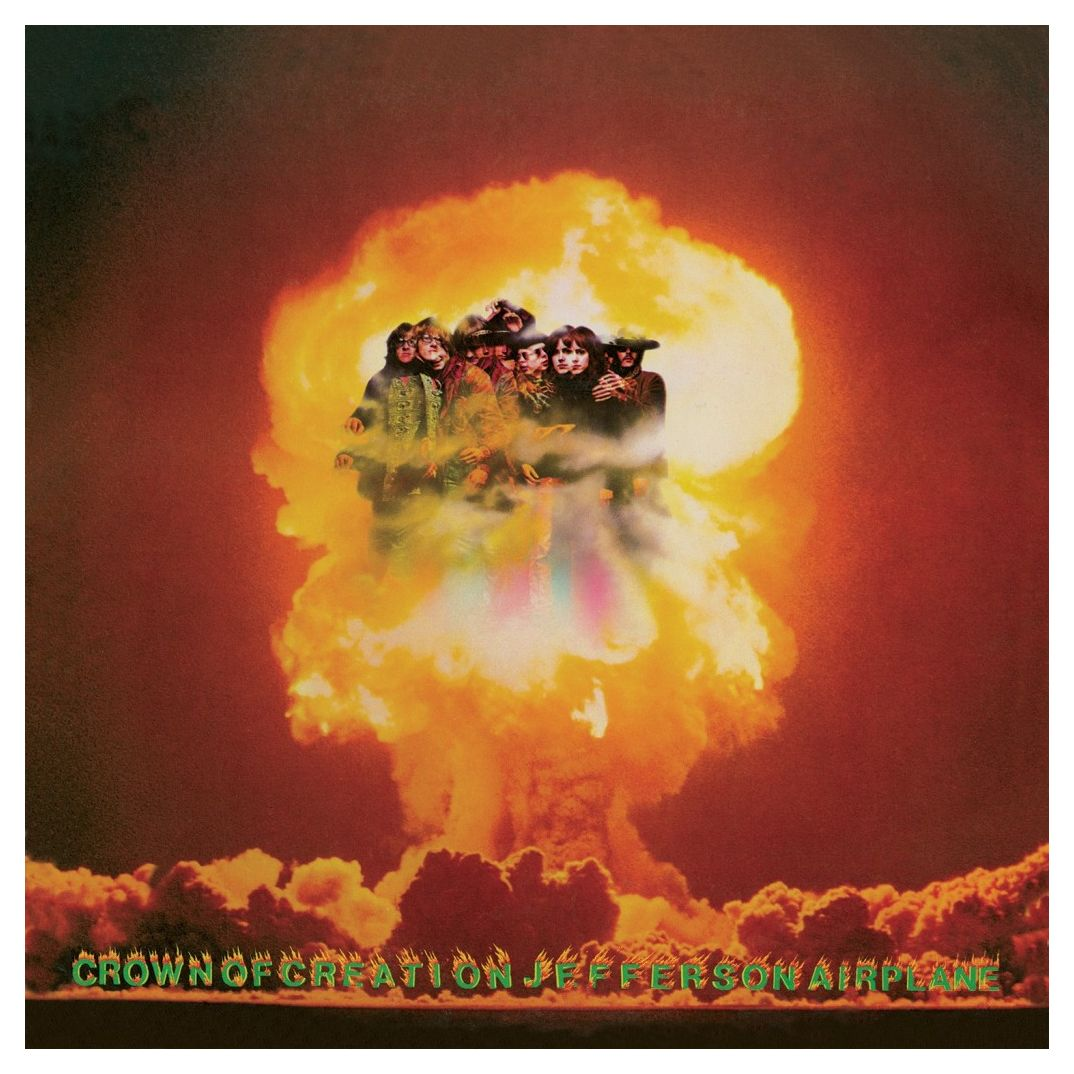 Jefferson Airplane - Crown of Creation (180 Gram Audiophile Orange Marble Vinyl/Limited Edition/Gatefold Cover)
