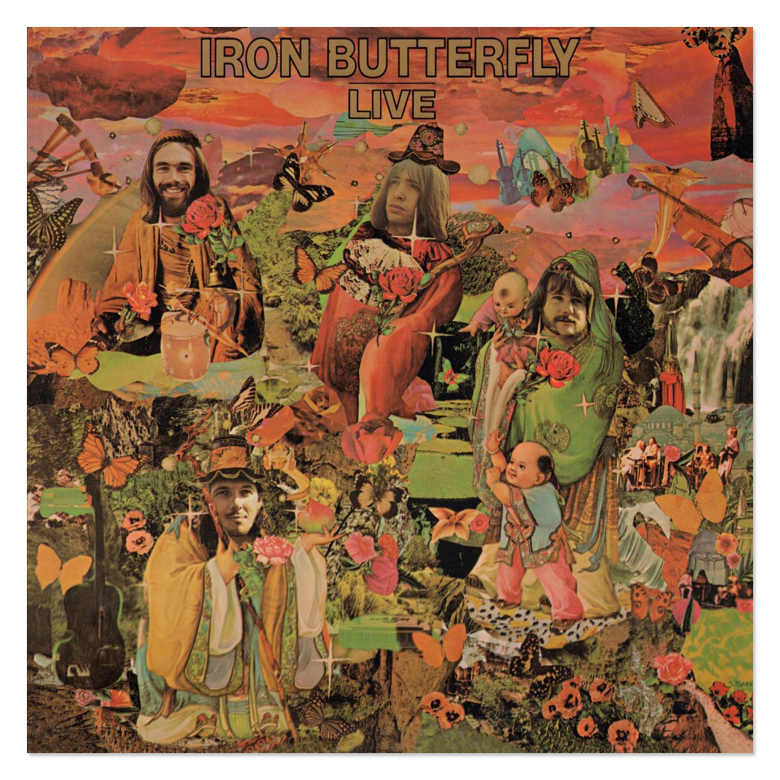 Iron Butterfly Iron Butterfly Live (180 Gram Audiophile Vinyl/Limited Annivesary Edition)