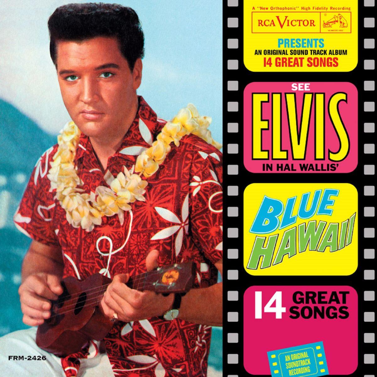 Elvis Presley - Blue Hawaii (180 Gram Audiophile Translucent Blue Vinyl/Limited Anniversary Edition/Gatefold Cover)