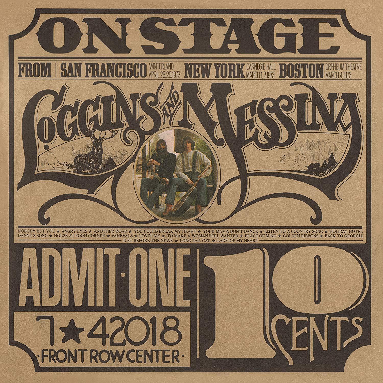 Loggins & Messina - On Stage Translucent Gold LP