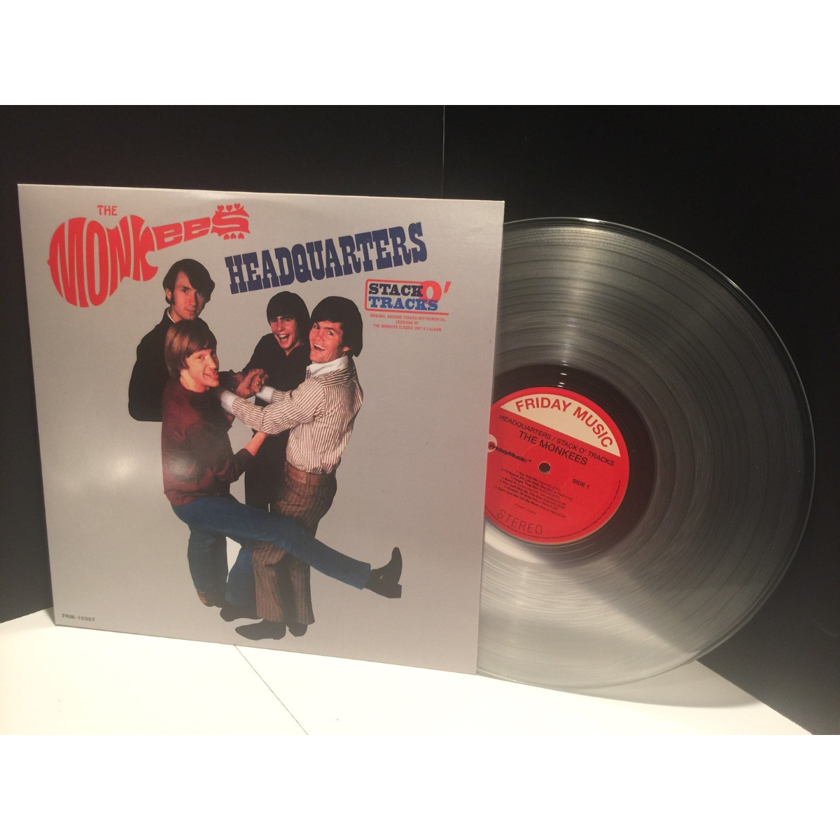 The Monkees - Headquarters Stack-O-Tracks Clear LP