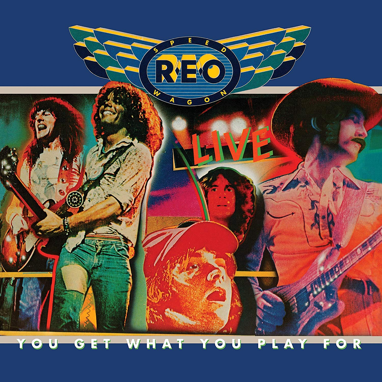 Reo Speedwagon - You Get What You Play For Blue LP
