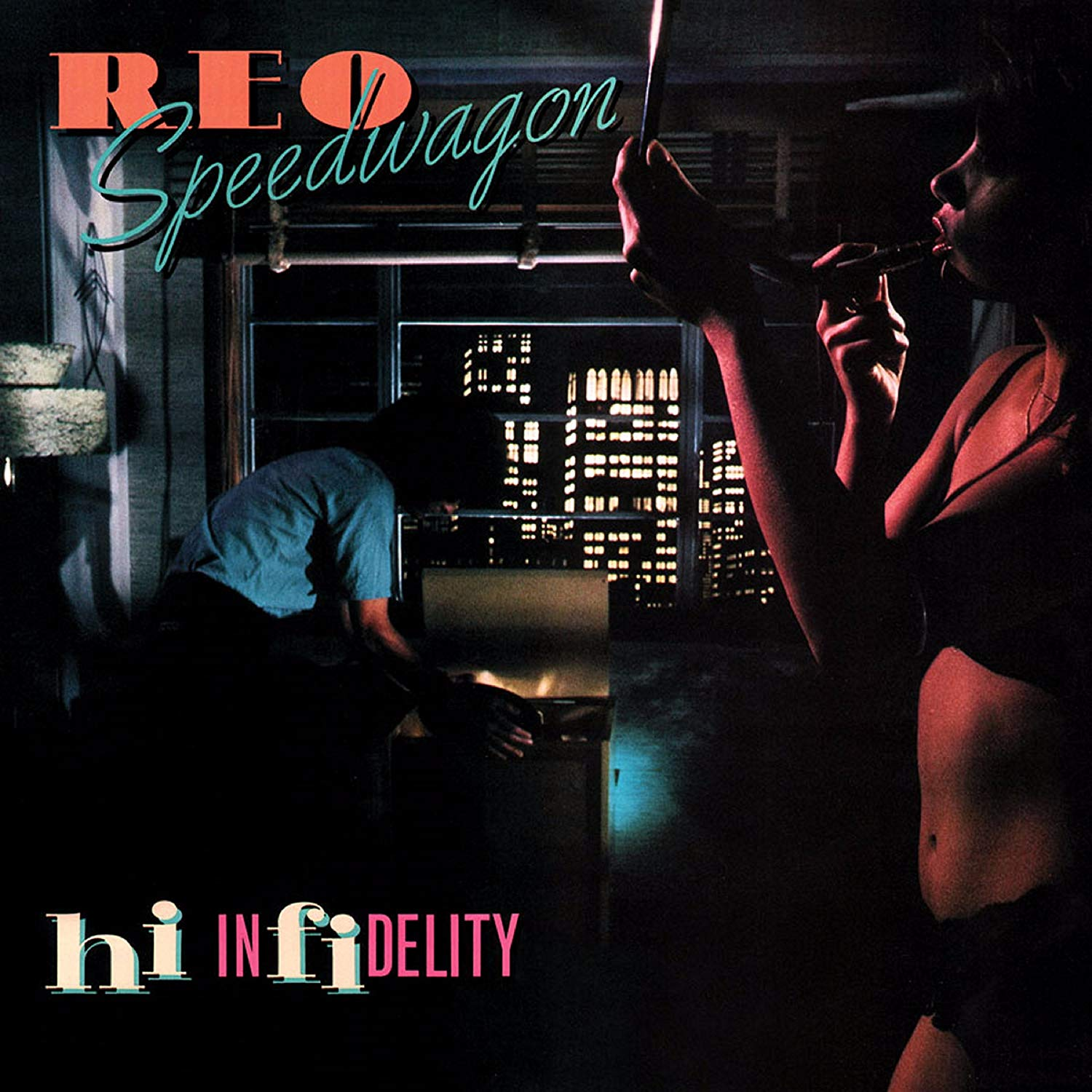 Reo Speedwagon - Hi Infidelity Platinum Colored LP