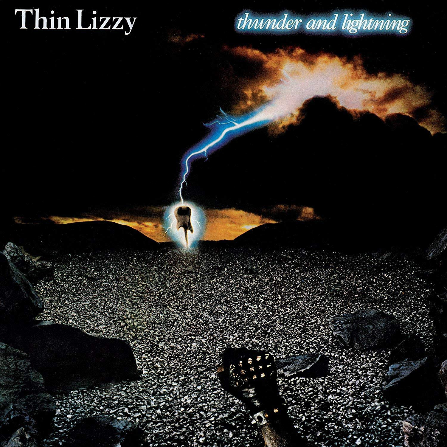 Thin Lizzy - Thunder And Lightning  LP