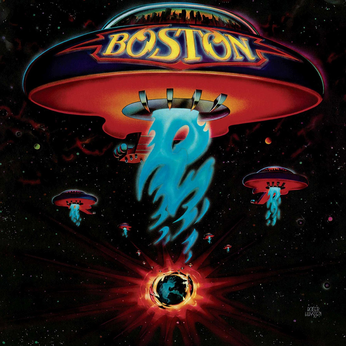 BOSTON - BOSTON (180 GRAM AUDIOPHILE TRANSLUCENT GOLD VINYL/LIMITED ANNIVERSARY EDITION) LP