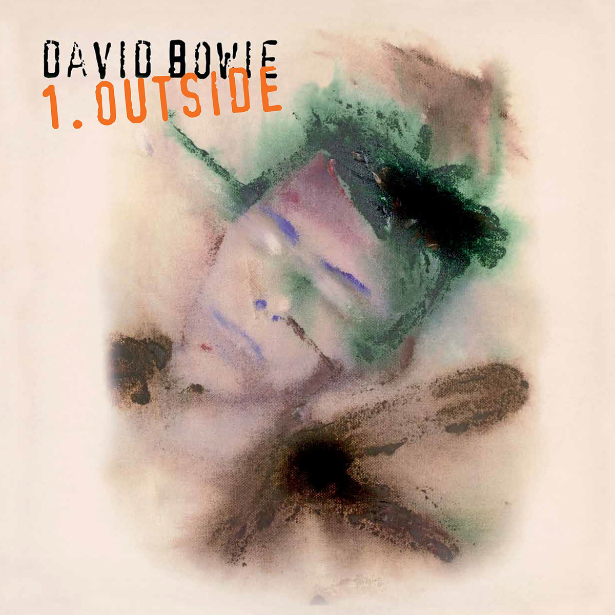 David Bowie - 1. OUTSIDE (180 GRAM AUDIOPHILE WHITE AND BLACK SWIRL VINYL/LIMITED EDITION) LP