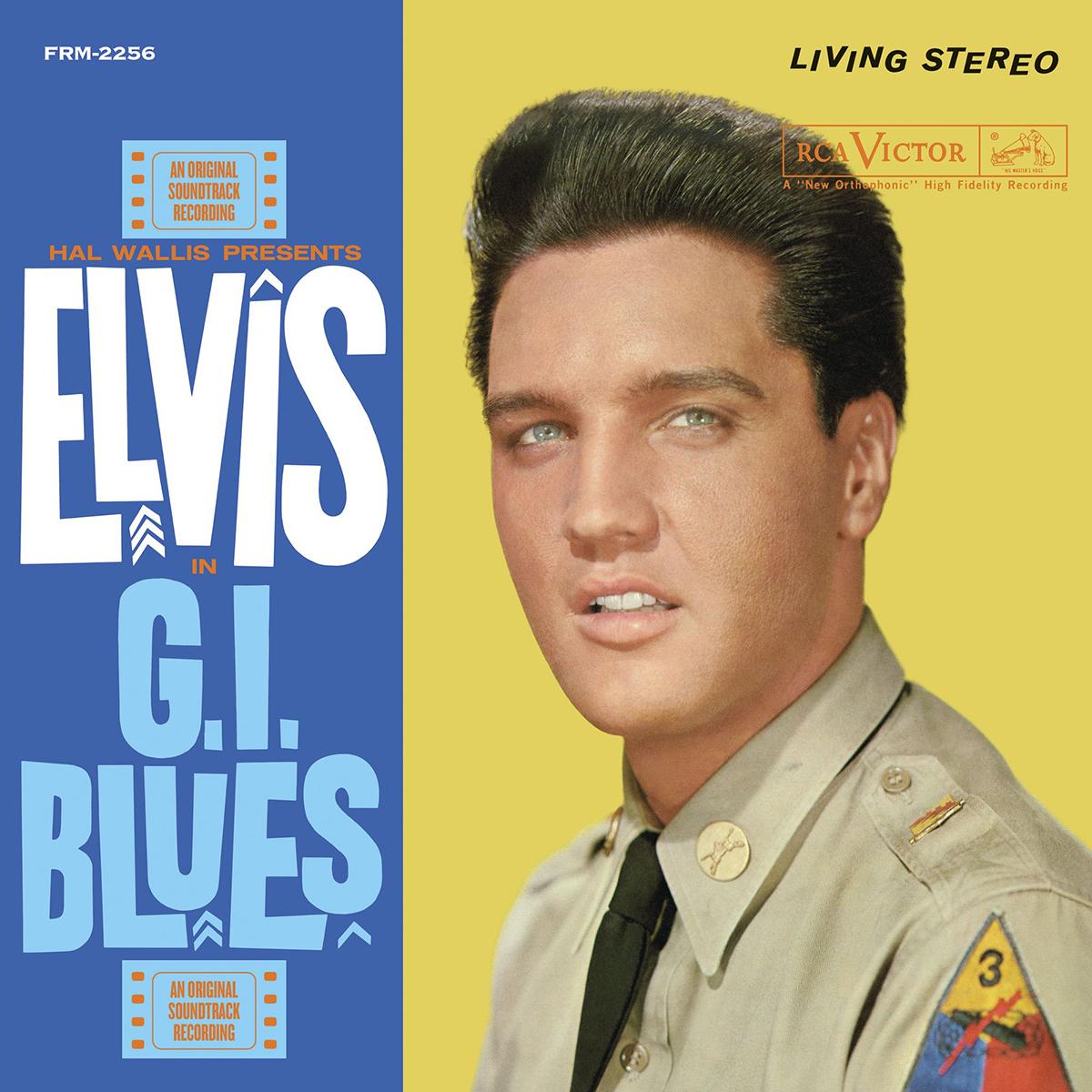 Elvis Presley - G.I. BLUES 180 GRAM YELLOW AUDIOPHILE VINYL/LIMITED ANNIVERSARY EDITION LP