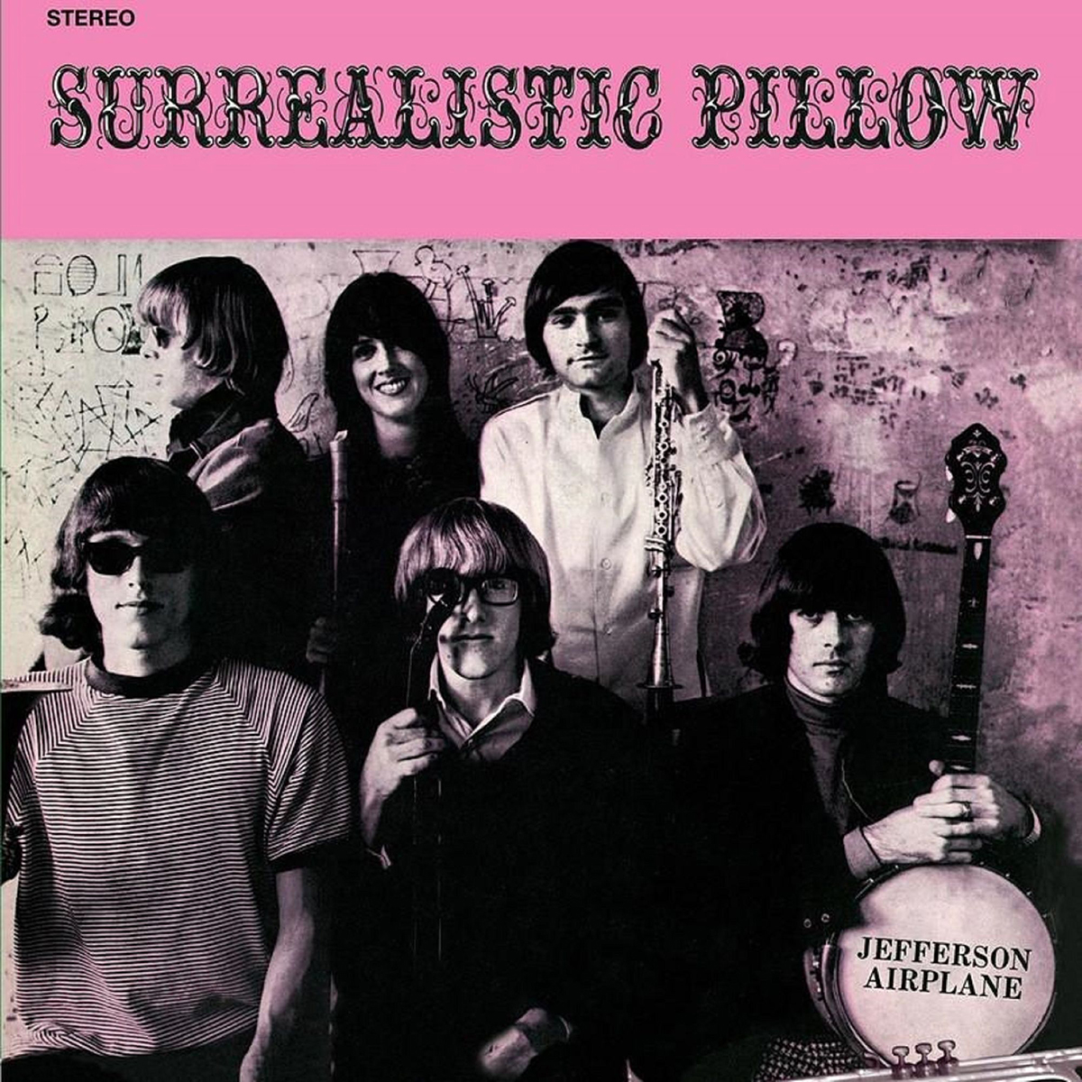 Jefferson Airplane - Surrealistic Pillow (180 Gram Audiophile Pink Vinyl/Limited Edition/Gatefold Cover)