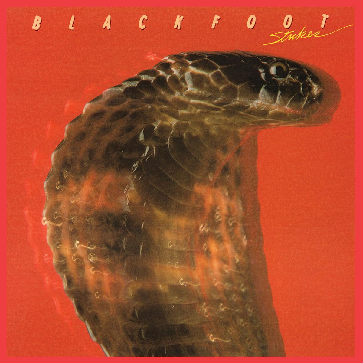 BLACKFOOT - STRIKES 180 GRAM AUDIOPHILE VINYL/LIMITED ANNIVERSARY EDITION LP