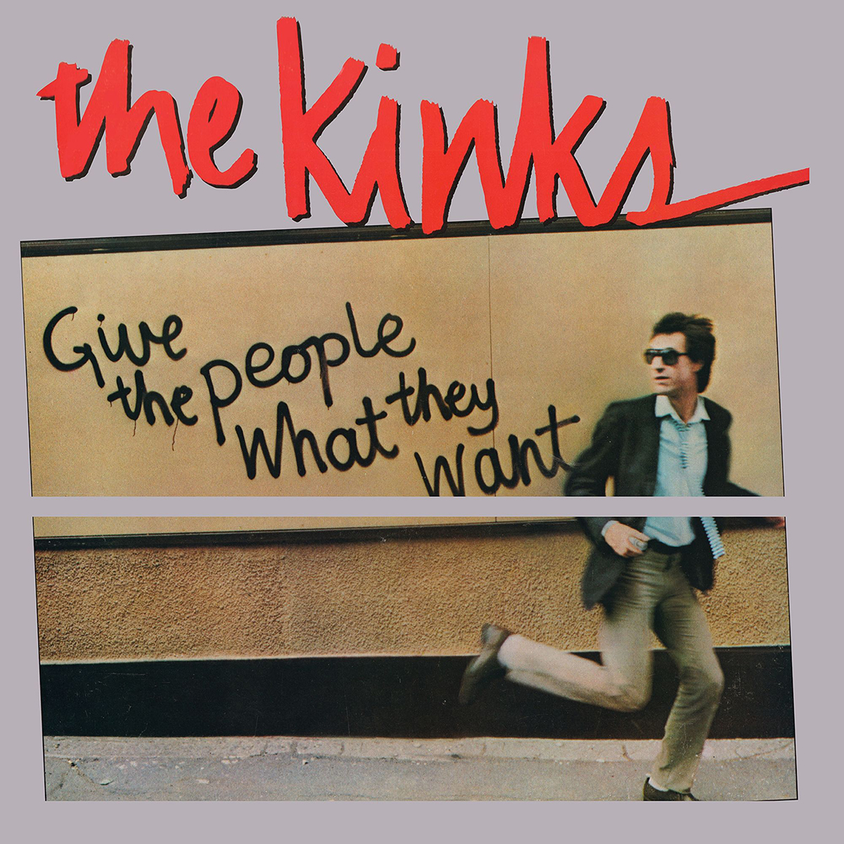 THE KINKS - GIVE THE PEOPLE WHAT THEY WANT 180 GRAM AUDIOPHILE CLEAR LP
