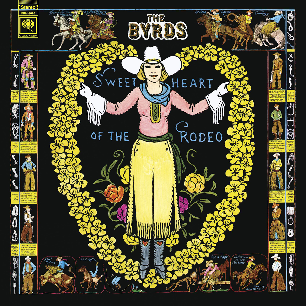 THE BYRDS - SWEETHEART OF THE RODEO (180 GRAM TRANSLUCENT BLUE & GREEN SWIRL LP