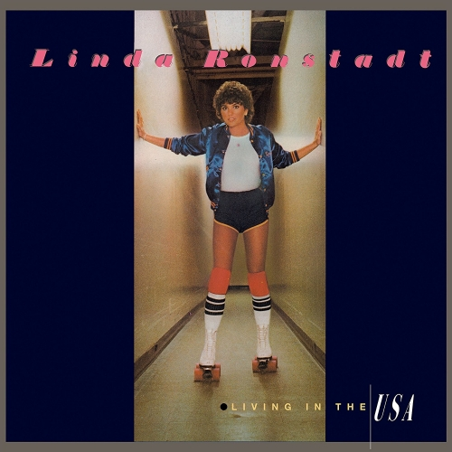 LINDA RONSTADT - LIVING IN THE U.S.A. 180 GRAM AUDIOPHILE TRANSLUCENT BLUE LP